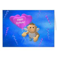 My Little Angel: Birthday Angel 2 Greeting Card