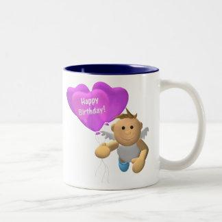 My Little Angel: Birthday Angel 2 Two-Tone Coffee Mug