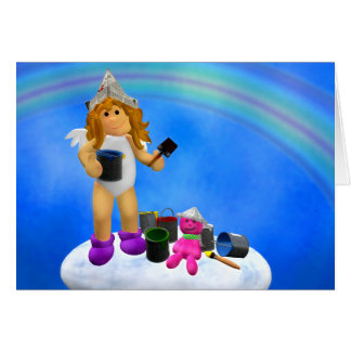 My Little Angel: Colorful Summertime Greeting Cards