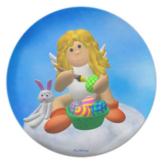 My Little Angel: Easter Joy Plate