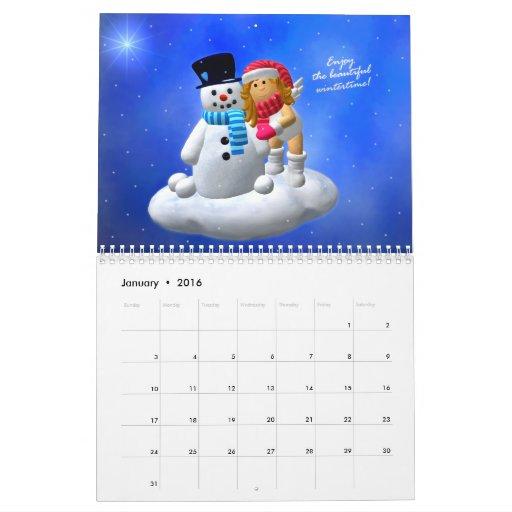 My Little Angel: Enchanting Calendar 2012