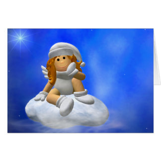 My Little Angel: Enchanting Wintertime Greeting Cards