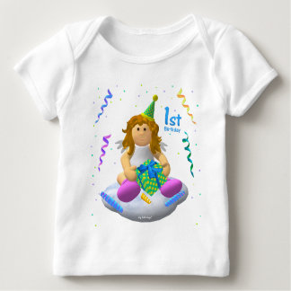 My Little Angel: First Birthday Baby T-Shirt