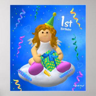 My Little Angel: First Birthday Poster