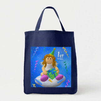 My Little Angel: First Birthday Tote Bag
