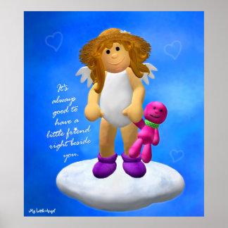 My Little Angel: Friends Poster