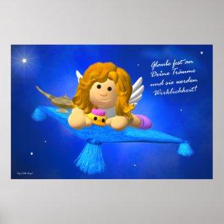 Poster: Glaube fest an deine Träume