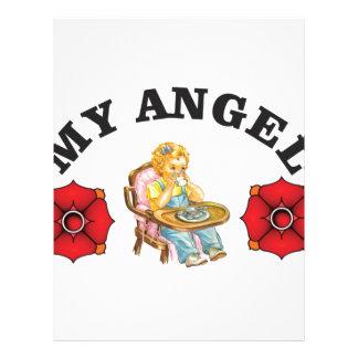 my little angel letterhead
