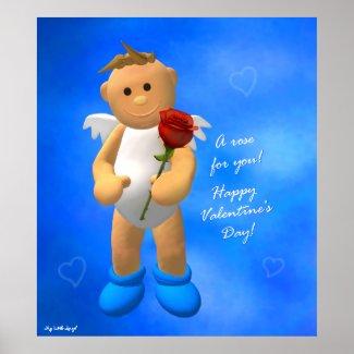 My Little Angel Love Poster 1 print