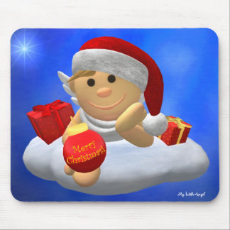 My Little Angel: Merry Christmas Mouse Pad