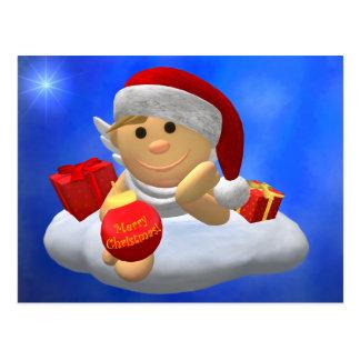 My Little Angel: Merry Christmas Postcard