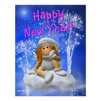 My Little Angel: New Year's Angel Poster