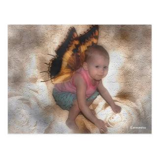 My little Angel Postcard