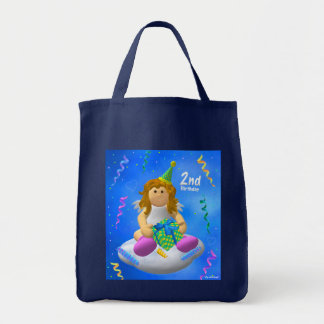 My Little Angel: Second Birthday Tote Bag