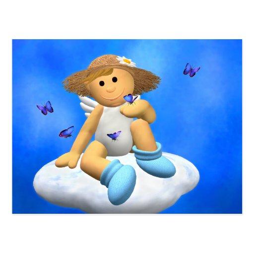 My Little Angel: Springtime Post Cards