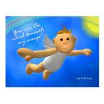 My Little Angel: Wind Postcard