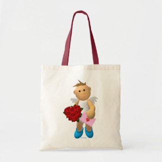 My Little Angel with Love Letter Tote Bag