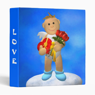 My Little Angel with Roses Binder