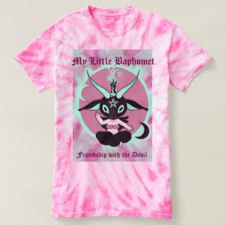 My little Baphomet friendship with the devil T-shirt