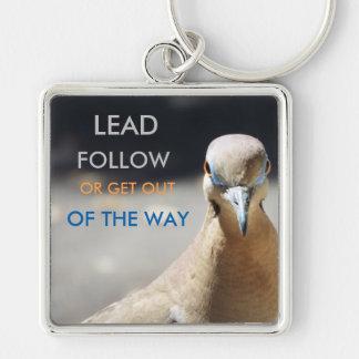 My little birdie Lead or Follow key chain