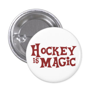 My Little Blackhawk, Hockey is Magic Pinback Button