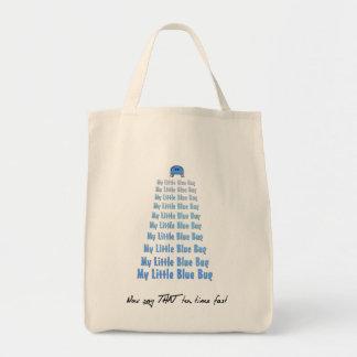 My Little Blue Bug Tote Bag