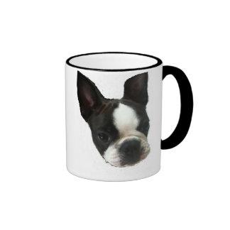 My Little Bostie Ringer Mug