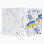 My Little Boy Airplane Album 3 Ring Binders