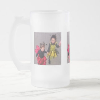 My Little Bugs Frosted Glass Beer Mug