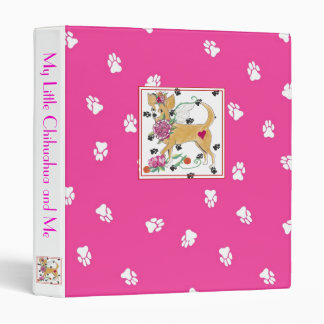 My Little Chihuahua and Me Binder
