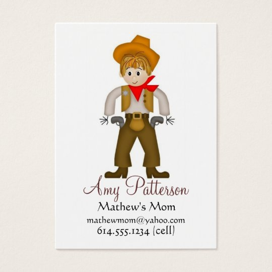 My Little Cowboy Mommy Cards