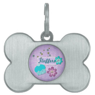 My Little Cupcake CUSTOM Name Pet ID Tag