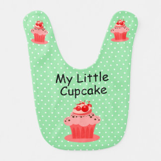 My Little Cupcake for Baby Baby Bib