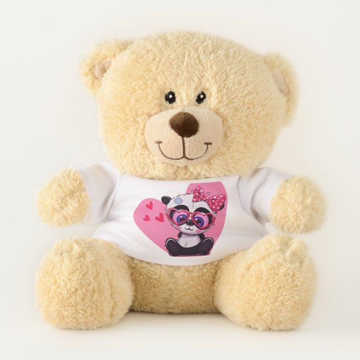 Anxiety Stuffed Animal, My Little Cute Baby Panda Teddy Bear Zazzle Com