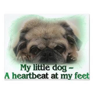 My Little Dog 4.25x5.5 Paper Invitation Card
