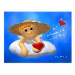 My Little fishing rod: My heart Postcards