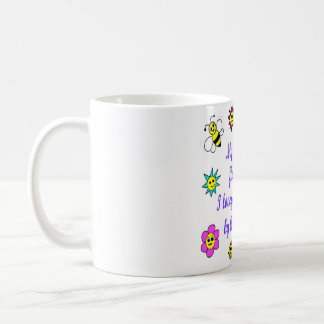 My little Flower Design Mug