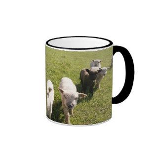 My Little Friends Ringer Coffee Mug
