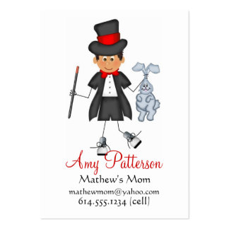 My Little Future Magician Mommy Cards Large Business Cards (Pack Of 100)