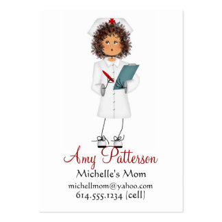 My Little Future Nurse Mommy Cards Large Business Cards (Pack Of 100)