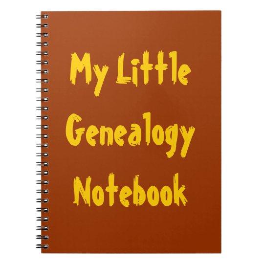 My Little Genealogy Notebook