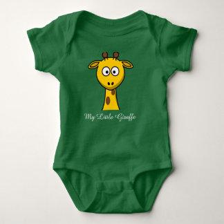 My little giraffe baby bodysuit