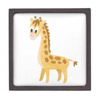 My Little Giraffe Keepsake Box