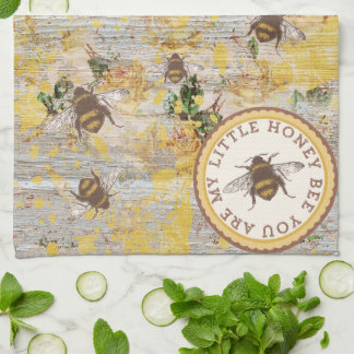 My Little Honey Bee Kitchen Towel