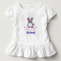 My little honey bunny toddler t-shirt