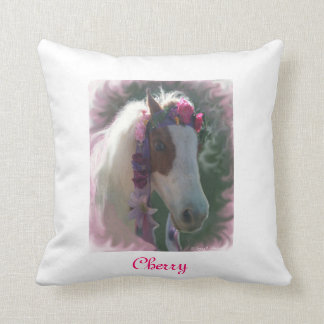My Little Horse Cherry w/flowers pillow