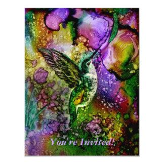 "My Little Hummingbird 4.25"" X 5.5"" Invitation Card"