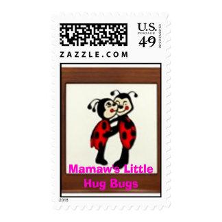 my little lady bug, Mamaw's Little Hug Bugs Postage