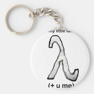 My little lamba calculus (+ u me) key chains