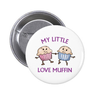 My Little Love Muffin Pinback Buttons